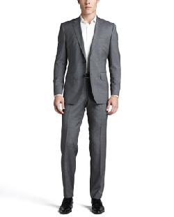 Hugo Boss - Hour/Sharp Two-Piece Suit, Light Gray