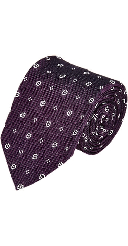 Uman - Medallion Grenadine Neck Tie