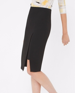 White House Black Market - High-Slit Pencil Skirt
