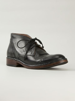 John Varvatos - Lace-Up Ankle Boots