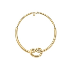 Michael Kors - Gold-Tone Knot Necklace