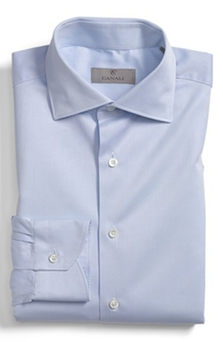 Canali - Regular Fit Dobby Dress Shirt