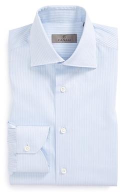 Canali  - Regular Fit Check Dress Shirt