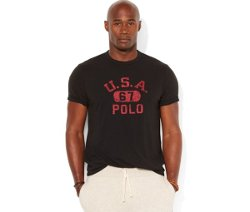 Polo Ralph Lauren  - Big and Tall USA Graphic T-Shirt