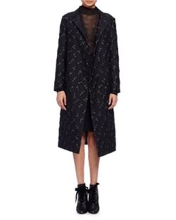 Lanvin  - Floral Brocade Top Coat