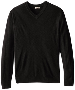 Dockers  - Mini Diamond Texture V-Neck Sweater