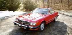 Mercedes-Benz  - 1989 560SL 2 Passenger Coupe/Roadster