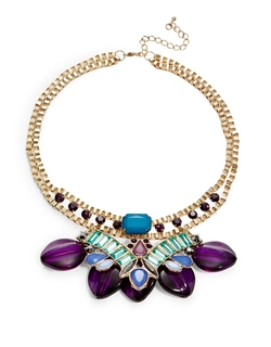 Catherine Stein - Teardrop Stone Statement Necklace