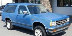 Chevrolet - 1988 S-10 Blazer SUV