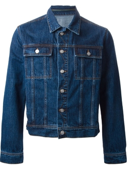 Kenzo   - Embroidered Denim Jacket