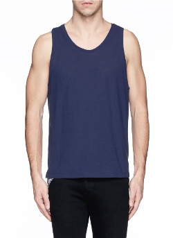 T By Alexander Wang - Nylon Back Yoke Jersey Tank Top