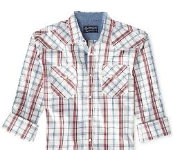 American Rag  - Slim-Fit Plaid Shirt