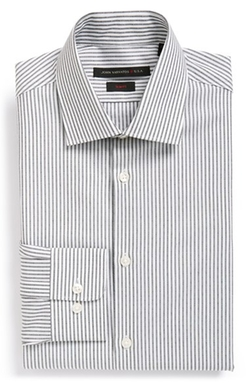 John Varvatos Star USA  - Slim Fit Stripe Dress Shirt