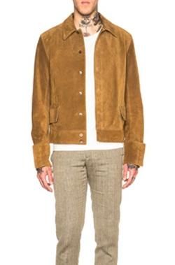 Maison Margiela - Suede Zip Jacket