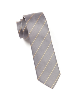 The Tie Bar - Pencil Pinstripe Tie