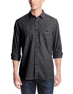 Dockers - Basic Solid Chambray Shirt