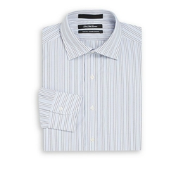 Saks Fifth Avenue - Striped Cotton Dress Shirt