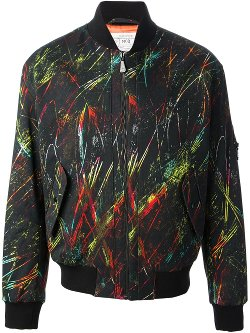 Mcq by Alexander Mcqueen - Printed Bomber Jacket