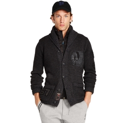 Ralph Lauren - Pima Cotton Shawl Cardigan