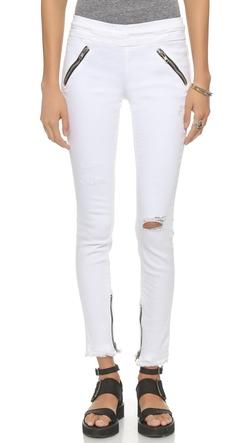 RtA  - Mila Skinny Zip Jeans