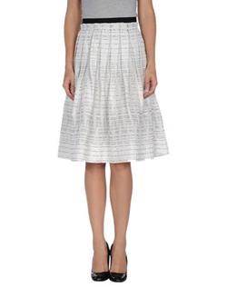 Albino - Knee Length Skirt