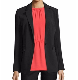 Michael Michael Kors - Clean One-Button Crepe Blazer