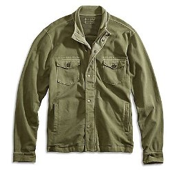 Lucky Brand - Zipper Front Closure Military Jacket