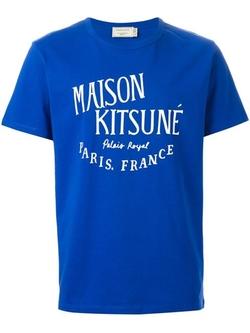 Maison Kitsuné - Logo Print T-Shirt