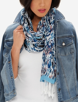 The Limited - Printed Woven Scarf