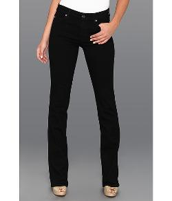 7 For All Mankind  - The Skinny Bootcut w/ Squiggle Second Skin Slim Illusion