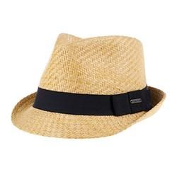 Van Heusen - Straw Fedora Hat