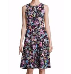 Etro  - Printed Jersey Dress