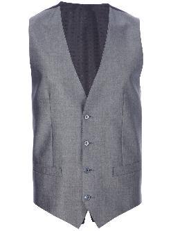 DOLCE & GABBANA  - patterned waistcoat