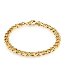 Bling Jewelry - Cuban Curb Chain Bracelet