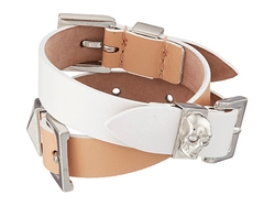 Alexander McQueen - Three Buckle Double Wrap Bracelet