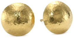 "Gurhan -  ""Lentil"" High-Karat Gold Stud Earrings"