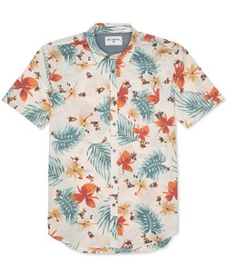 Billabong  - Bromuda Floral-Print Button-Down Shirt