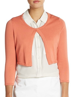 Peserico  - Cropped Cotton Cardigan