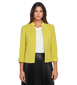 Tahari ASL - Long Sleeve Ponte Jacket
