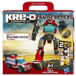KRE-O  - Transformers Autobot Ratchet Construction Set