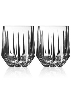 Vera Wang - Wedgwood Peplum Double Old Fashioned Glasses