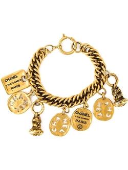 Chanel Vintage - Logo Charm Bracelet