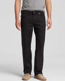 True Religion Jeans - Geno Straight Fit Overdye Jeans