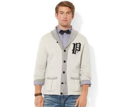 Polo Ralph Lauren  - Fleece Shawl Cardigan