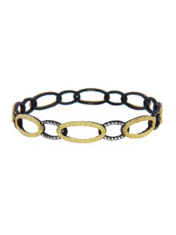 Armenta  - Open Oval Link Bangle