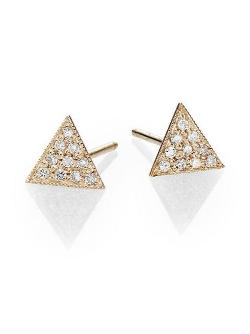 Zoe Chicco - Triangle Stud Earrings