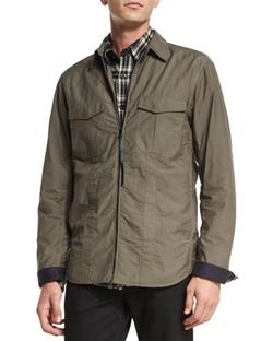 Rag & Bone  - Holder Zip-Up Shirt Jacket