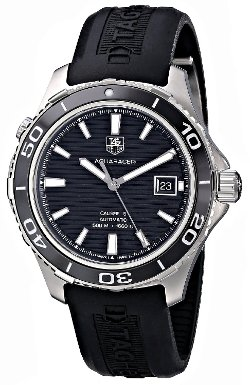TAG Heuer  - Aquaracer Analog Display Swiss Automatic Black Watch