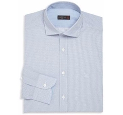 Corneliani - Micro Dot Button-Up Shirt