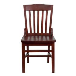 FLASH FURNITURE  - Hercules Series School House Back Side Chair